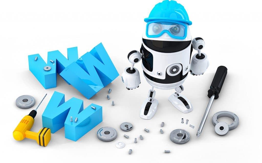 Website Maintenance Analytics Support SEO Plan North Shore Digital Robot