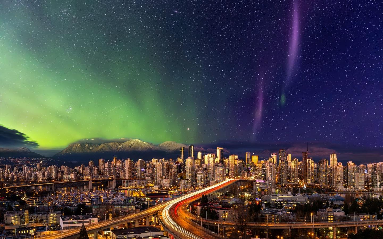 vancouver city aurora
